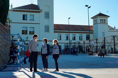 Puerta principal del Colegio